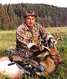 Montana bow buck