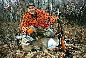 Scott's first buck