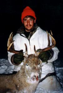 shane's 1st buck