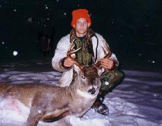 troy's 1st buck